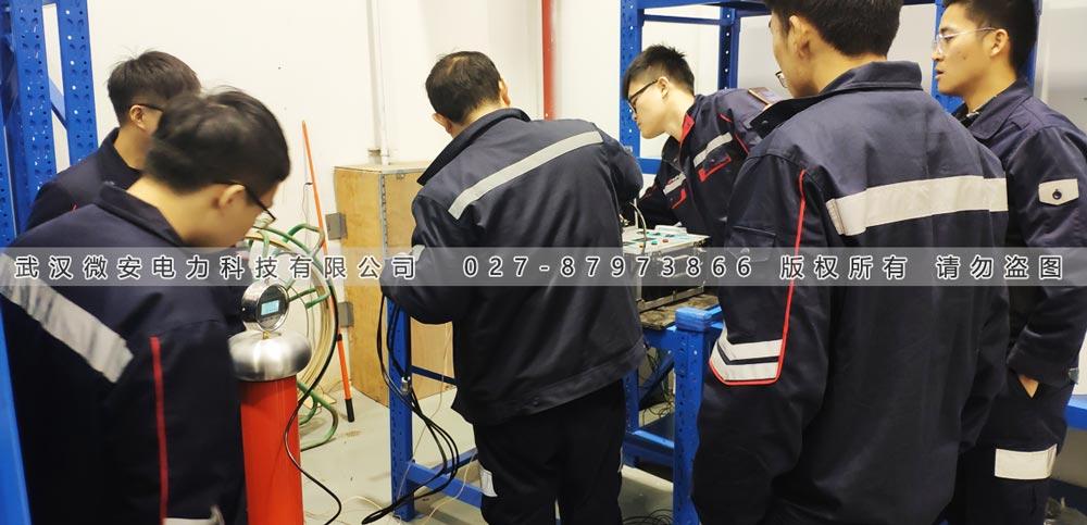 油浸式试验变压器培训现场